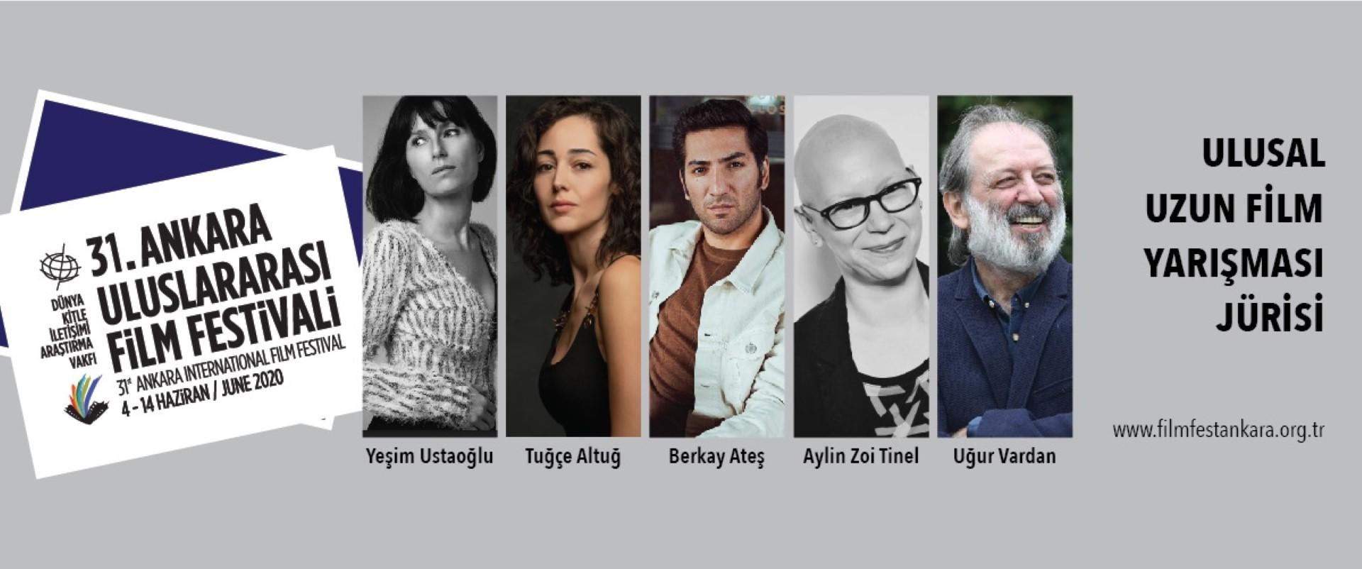 31. Ankara Uluslararası Film Festivali Ulusal Uzun Film Yarışması Jürisi Belirlendi