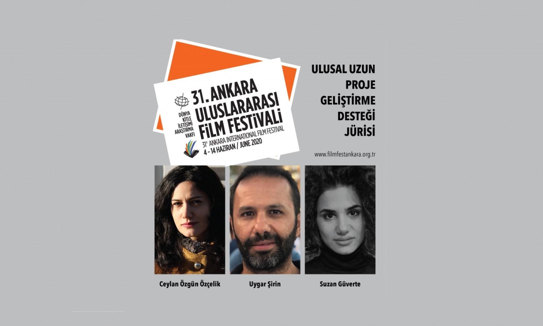31. Ankara Uluslararası Film Festivali Proje Geliştirme Desteği Jürisi Belli Oldu!