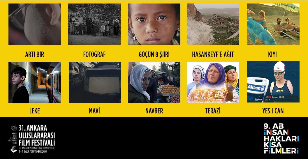 Kısaca insan hakları festivalde...