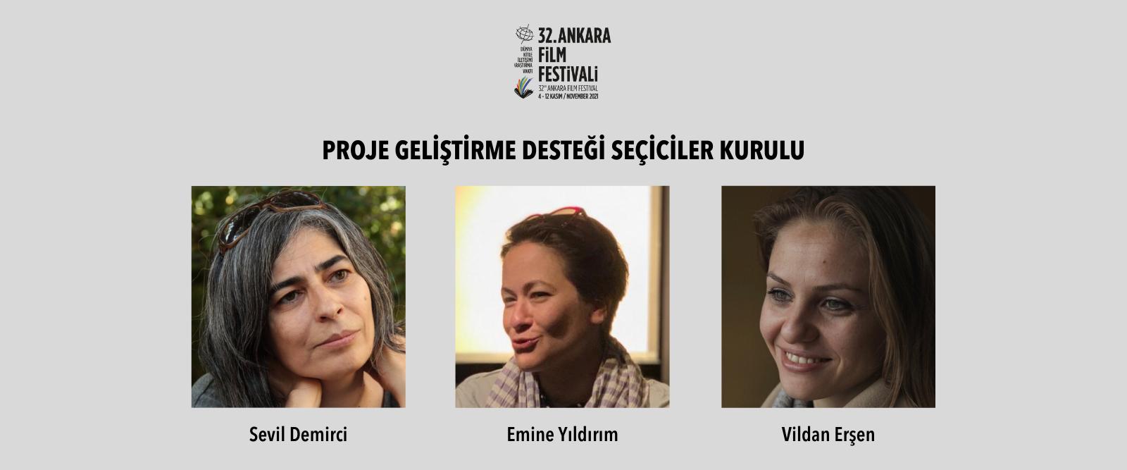Ankara Film Festivali Proje Geliştirme Desteği Seçiciler Kurulu Belirlendi