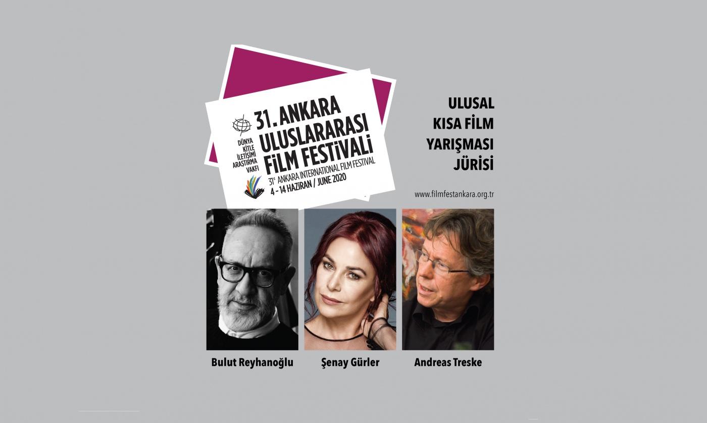 31. Ankara Uluslararası Film Festivali Ulusal Kısa Film Yarışma Jürisi